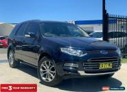 2011 Ford Territory SZ Titanium Wagon 7st 5dr Seq Sport Shift 6sp, 4.0i [May] A for Sale